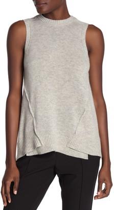 Brochu Walker Aimi Wool & Cashmere Blend Sleeveless Shirt