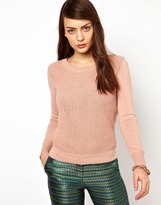 Sessun Cotton Chunky Knitted Sweater