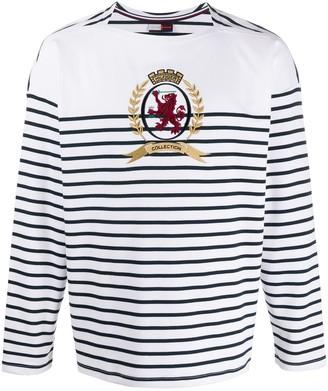 Tommy Hilfiger Breton stripe long sleeved top