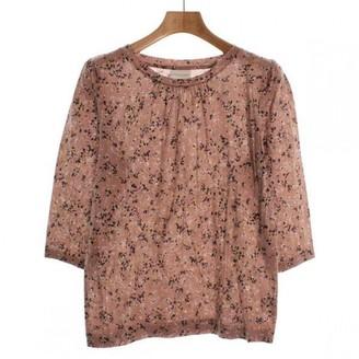 Dries Van Noten Pink Cotton Top for Women