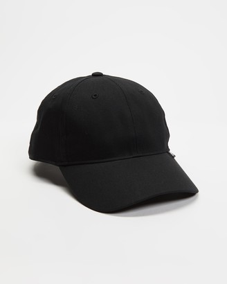 adidas Black Caps - Essentials 3-Stripes Cap - Size One Size at The Iconic
