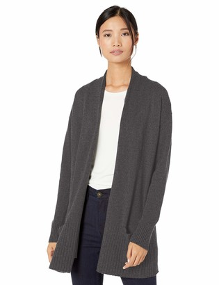 Goodthreads Wool Blend Jersey Stitch Cocoon Sweater Cardigan