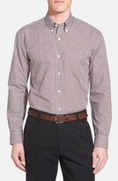 Cutter & Buck Men's 'Epic Easy Care' Classic Fit Wrinkle Free Gingham Sport Shirt