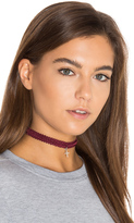 Natalie B x REVOLVE Kate Modele Lace Choker