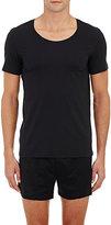 Hanro Men's Crewneck T-Shirt-BLACK