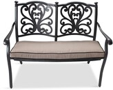 Thumbnail for your product : LG Outdoor Devon Bench and Cushion, Bronze