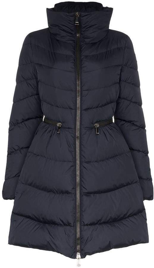 6882ccfd7 Mirielon quilted-down coat