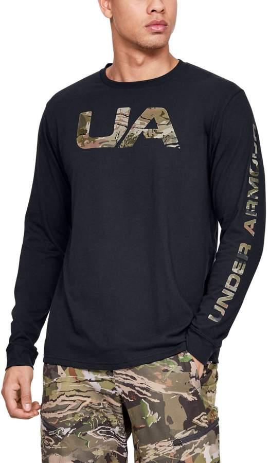 30250e52 Men's UA Camo Fill Long Sleeve