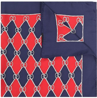 Gucci Pre-Owned GG diamond-pattern scarf