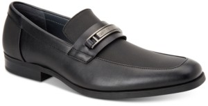 Calvin Klein Men's Jameson Soft Leather Loafers Men's Shoes