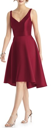 Alfred Sung Sweetheart Neck Cocktail Dress