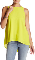 Vince Camuto Back Pleat Tank (Petite)