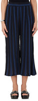 Ace&Jig Women's Jo Striped Cotton-Blend Jacquard Wide-Leg Pants