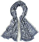 Fraas Women's Scarf - Blue -