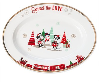 Disney Mouse Holiday Serving Dish