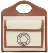 Burberry Mini Logo Print Pocket Bag