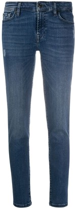 7 For All Mankind Low-Rise Slim Fit Jeans