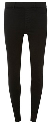 Dorothy Perkins Womens Tall Black 'Eden' Super Soft Ankle Grazer Jeggings, Black