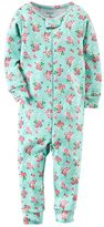 Carter's Baby Girl Print Coveralls