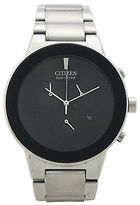 Citizen AT2240-51E Chronograph Axiom Eco-Drive Stainless Steel Bracelet Watch