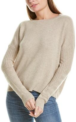 LISA TODD Park City Wool & Cashmere-Blend Sweater