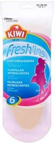 Kiwi Fresh'ins for Ladies Size 6-7 - Pack of 6