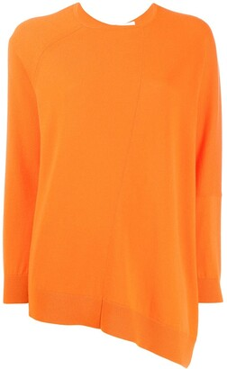 Fabiana Filippi asymmetric cashmere jumper