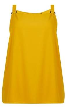Dorothy Perkins Womens **Dp Curve Yellow Camisole Top, Yellow