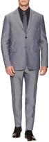 Jil Sander Men's Wool Sharkskin Slim Fit Suit