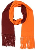 Hermes Colorblock Cashmere Wool Scarf
