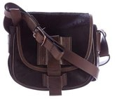 UGG Ponyhair & Leather Crossbody Bag