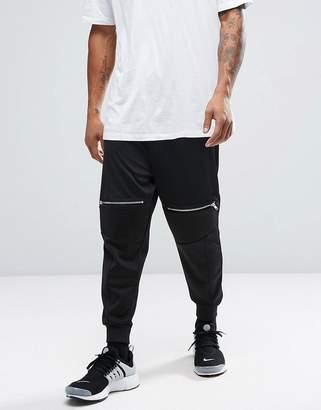 Asos Design Cropped Drop Crotch Biker Joggers-Black