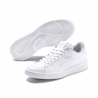 Puma Kids' Smash V2 L JR Sneakers White White 3.5 UK