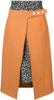 Creatures of the Wind Stamik skirt - women - Silk/Virgin Wool - 4