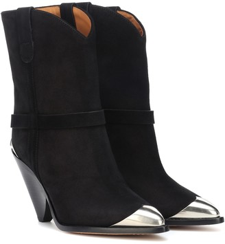 Isabel Marant Lamsy suede ankle boots