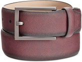 Alfani Men's Saffiano-Finish Belt, Only at Macy's