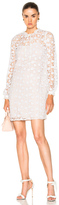 Needle & Thread Crochet Lace Dress in White.