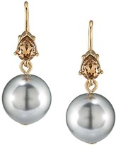 Carolee Contrast Drop Earrings
