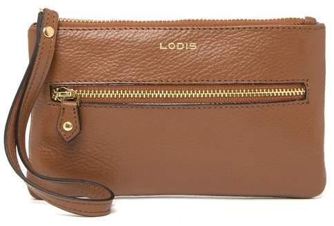 Lodis Small Leather Wristlet