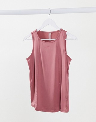 Only Play sleeveless training tee in mesa rose