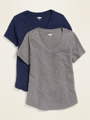 Old Navy EveryWear Slub-Knit Tee 2-Pack for Women