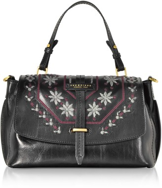 The Bridge Fiesole Embroidered Leather Satchel Bag