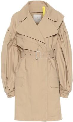 MONCLER GENIUS 4 MONCLER SIMONE ROCHA cotton gabardine trench coat