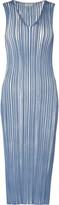 Suno Ribbed cotton-blend dress