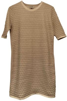 Dagmar Ecru Polyester Dresses
