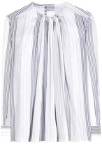Stella McCartney Striped Cotton-blend Top