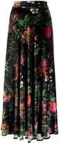 Paco Rabanne Floral Maxi Skirt