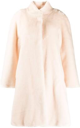 La Seine & Moi Maya faux-fur coat