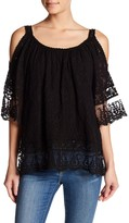 Luma Lace Cold-Shoulder Tunic