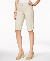 Charter Club Petite Cuffed Bermuda Shorts, Created for Macy's